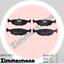 Zimmermann Bremsscheiben /& Beläge BMW E28 520i-M5 524d E24 628i-M635CSi Hinten
