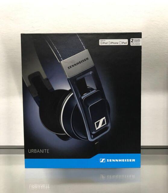 ee60823901f *SENNHEISER URBANITE On-Ear Headphones w Apple iOS/iPhone Controls~MASSIVE  BASS