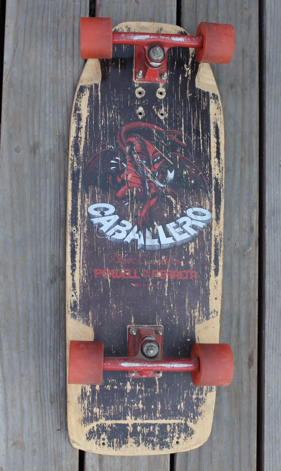 Rare Vintage 1981 Steve  Caballero Powell Peralta S board Complete Old School  factory outlet
