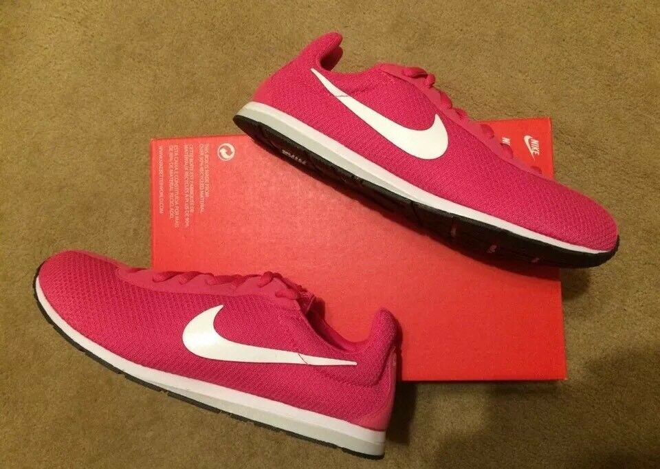 Womens Nike Little Runner Trainers Gym Yoga Fitness Casual Pink 4.5 UK