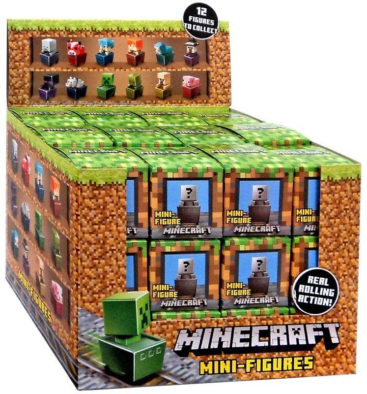 Minecraft Minecart Series Mystery 1 Mystery Series Box 941b8f