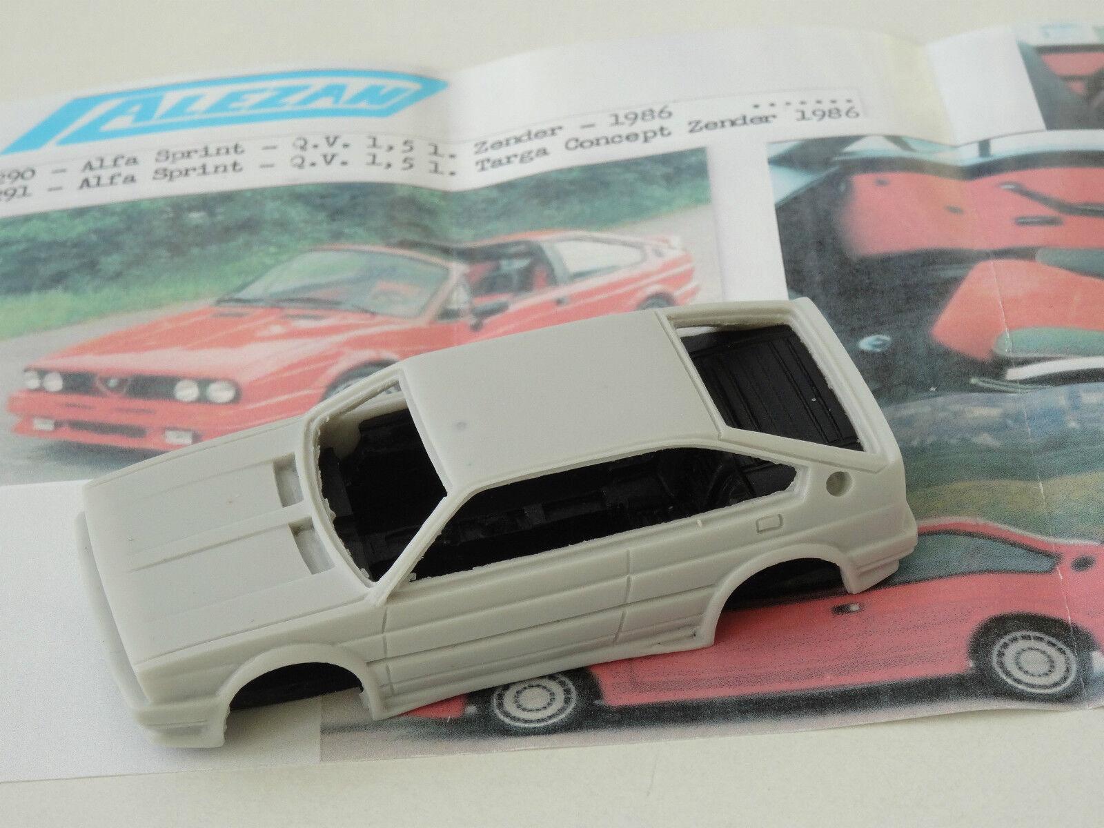 ALEZAN ALEZAN ALEZAN MODELS  . 1 43 . ALFA ROMEO SPRINT QV 1,5L ZENDER 1986 a7eed1