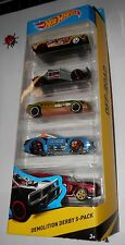 Hot Wheels 2015 Demolition Derby 5-Pack JACK HAMMER - PILEDRIVER - BYE FOCAL II