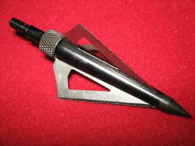 Bogen 125 grain schraubbar 3 blades Messerstahl 3 Jagdspitzen für Armbrust