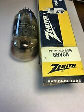 VINTAGE TV/RADIO ZENITH ELECTRON TUBE 6HV5A / NEW OLD STOCK UNTESTED