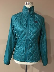 c11489259c40 Image is loading The-North-Face-Aquamarine-Turquoise-TERMOBALL-Light-Womens-
