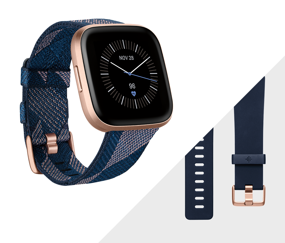 Fitbit Versa 2 Health and Fitness Smartwatch - NEW Versa2 5