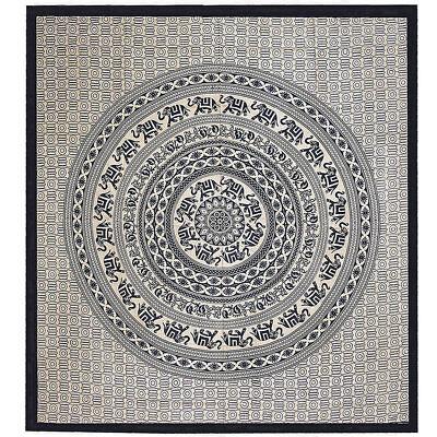 Analitico Giorno Soffitto Mandala Missoni Letto Su Lancio India Decorazione-panno Hippie Goa Yoga Top-mostra Il Titolo Originale