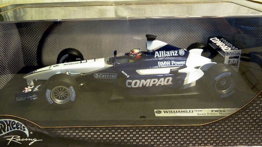Hot Wheels 54625  F1 Williams Williams Williams FW24, J. P. Montoya, 1 18, NEU & OVP - ungeöffnet bbc4fa