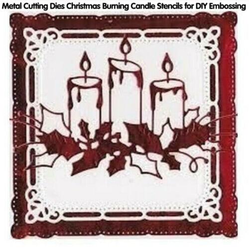 Christmas Metal Cutting Dies Stencils Album Decor DIY Craft Card Model Choice YG