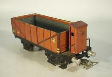 Märklin H0 371 offener Güterwagen mit Brh Serie 800 ca. 40er Jahre #527