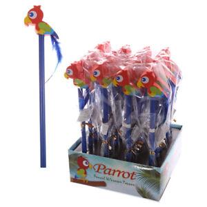 Parrot MATITA CON GOMMA topper scuola stazionario Party Bag/Stocking Filler