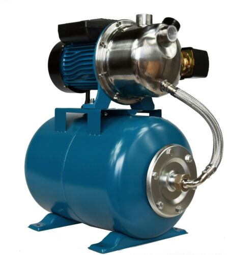 IBO water PUMP AJ50//60 1.1kW booster set 5bar hydrophore pressure TANK 24L pond