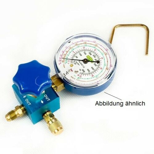 R134a R410A Manometer Single Block with//without Refco Gauge available R32