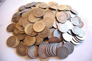 1 Mark Kursmünzen J.9/17 1873 - 1915 Lot 100 Stück Anlegerposten Silber