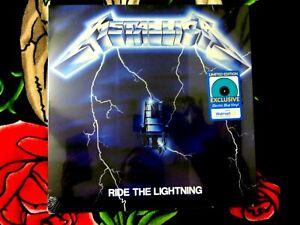 "METALLICA ""RIDE THE LIGHTNING"" VINYL LP WALMART EXCLUSIVE BLUE NEW SEALED"