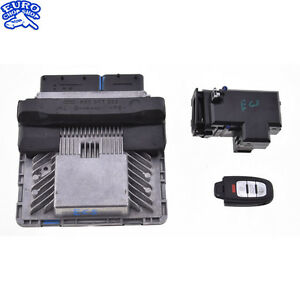 ENGINE-CONTROL-MODULE-KEY-LOCK-SET-computer-ecu-ecm-Audi-B8-8R-Q5-2010-10