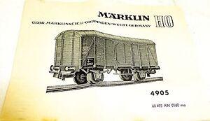 Marklin-MANUAL-DE-INSTRUCCIONES-4905-68-495-AN-160mA-a