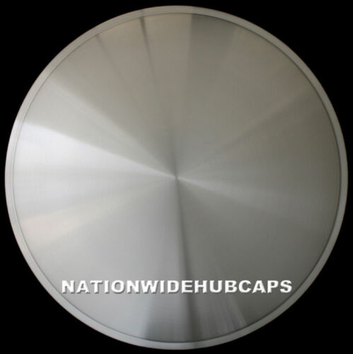 "14/"" FULL MOON HOT ROD RACING DISC HUB CAPS SOLID WHEEL COVERS RIMS New Set of 4"