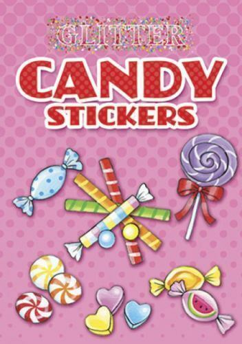 glitter candy stickers dover little activity books stickers