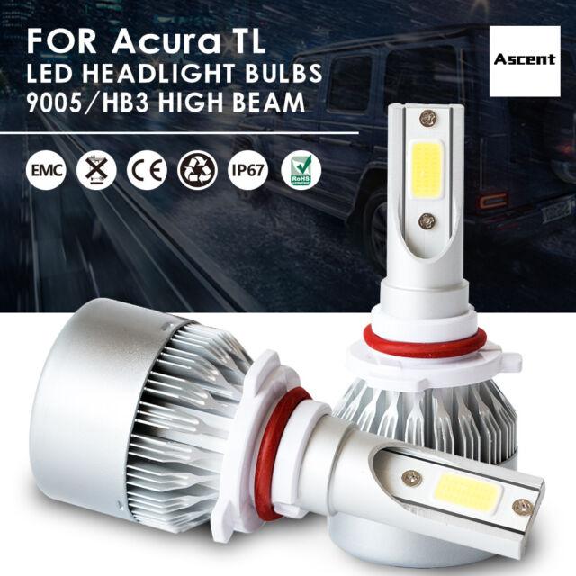 9005 Hb3 LED Headlight Kit High Power Bulbs Beam 6000k For
