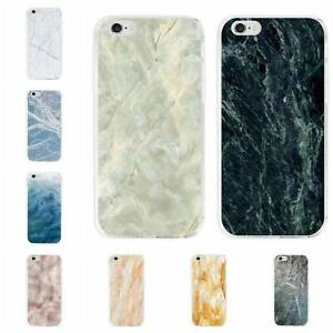 New-Fashion-Printed-Marble-Stone-Pattern-PC-Hard-Slim-Case-Cover-Skin-For-iPhone