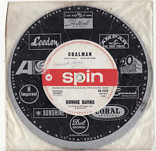 RONNIE BURNS - COALMAN/ALL THE KINGS  HORSES (2 BEE GEES Numbers) Megarare OZ 7""