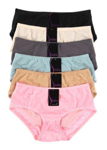 6pcs Women Ladies Bikini Extended Sideseam Panties Briefs Underwear S Size