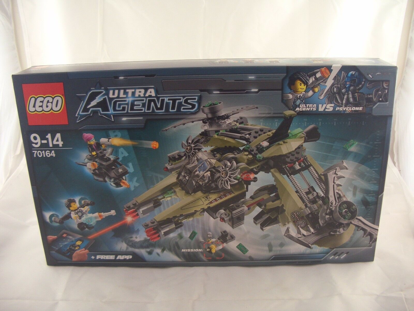 LEGO 70164 Ultra Agents Hurricane Heist New Sealed