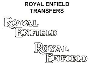 Royal-Enfield-Tank-Transfers-Decals-Motorcycle-White-Black-D51055
