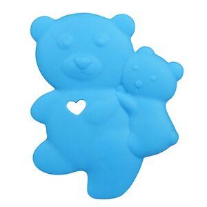 Baby Silicone Teether Teddy Bear Teething Jewelry