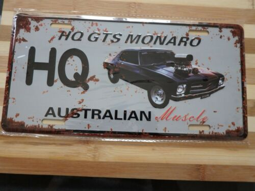Vintage Tin Shed Garage /& Bar,Man Cave HOLDEN HG GTS MONARO Rustic Metal Sign