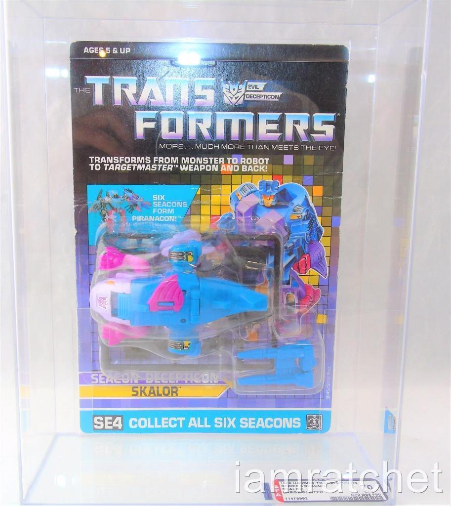Transformers Original G1 AFA 70 Seacon Skalor MOSC Large Blister 70 85 90