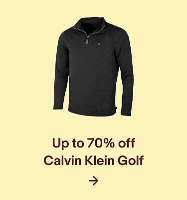 Up to 70% off Calvin Klein Golf