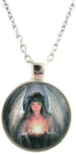 Pagan Jewelry Pentagram Necklace Wiccan