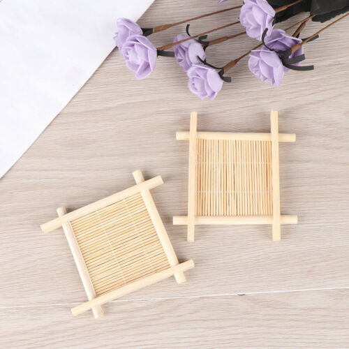 Wooden Bamboo Soap Dish Tray Holder Storage Soap Rack Plate Box Container