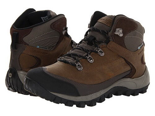 New Hi-Tec Men's  Quest Hike WP Hiking Boots Dark Chocolate, SZ 12 M US,45 EUR
