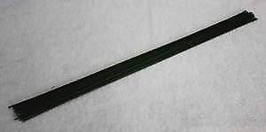 50pk 24 Gauge Metallic Black Flower Wires