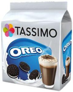 TASSIMO OREO Hot Chocolate Cookie T Discs Pods 4/8/16/24/40/80 Drinks