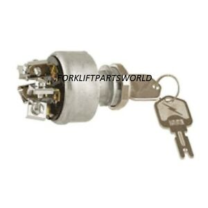 Details about CLARK, HYSTER YALE, UNIVERSAL FORKLIFT IGNITION SWITCH, CROWN  DAEWOO