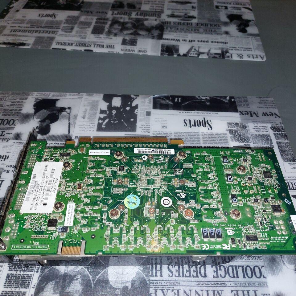 Geforce GTS 8800 Nvidia, 0,3 GB RAM, Rimelig