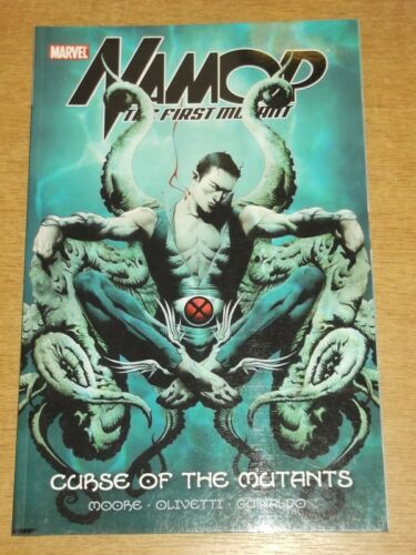 NAMOR FIRST MUTANT CURSE OF THE MUTANTS MARVEL MOORE NEW VOLUME 1  9780785151746