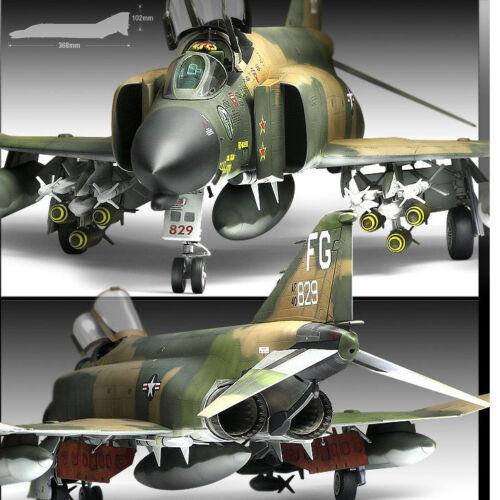 1//48 F-4C Vietnam War #12294 Academy Model Kits