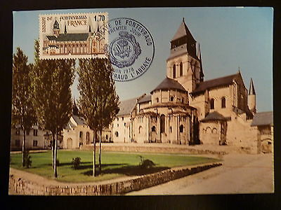 Sunny France Premier Jour Fdc Yvert 2002 Abbaye De Fontevraud 1,70f Fontevraud 1978 Topical Stamps Stamps