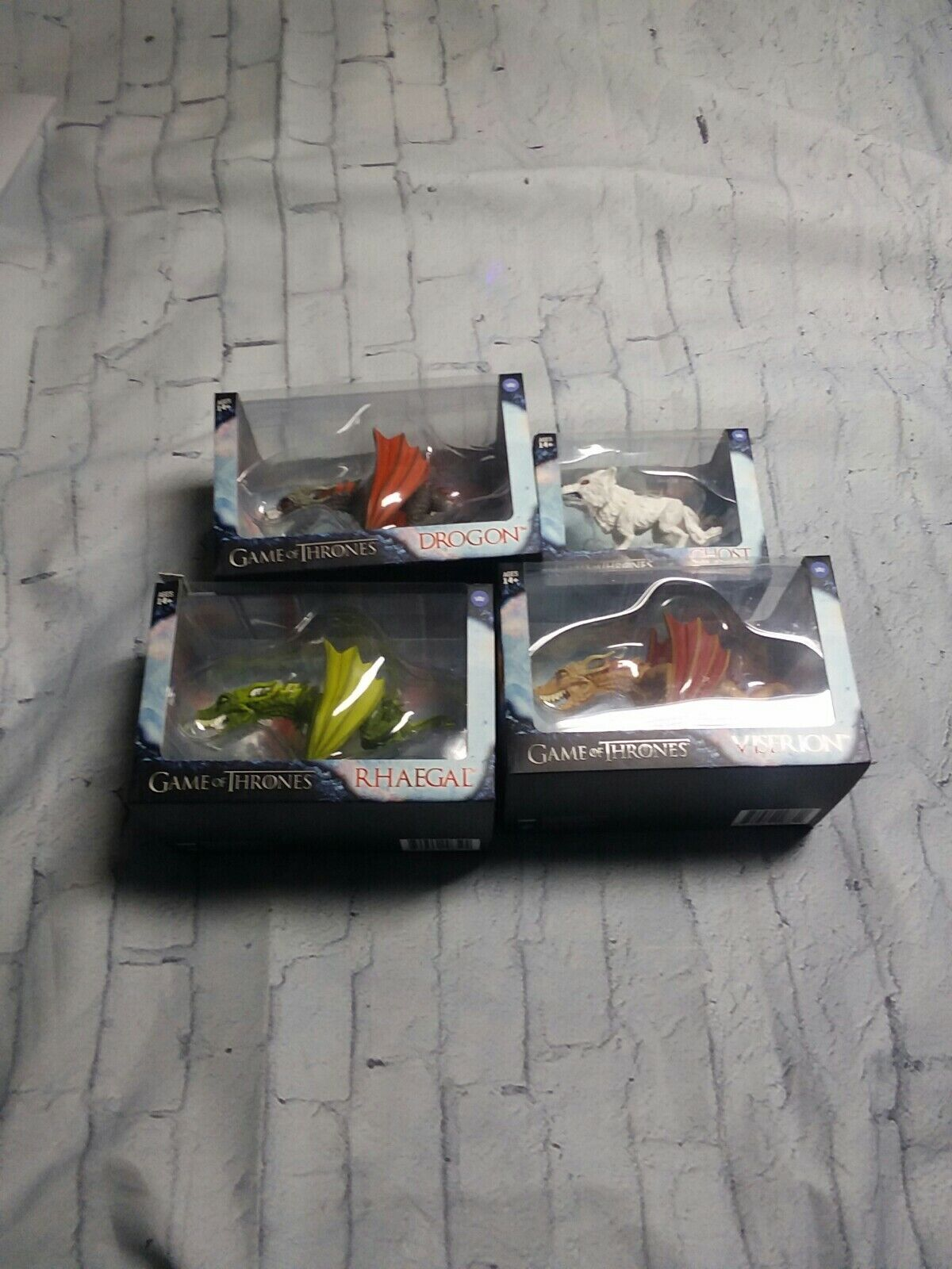 The Loyal Subjects Game Of Thrones - Viserion, Rhaegal, Drogon, dragons ghost