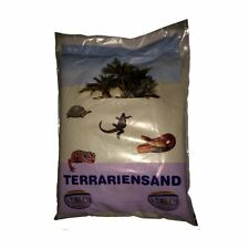 Terrarien Sand weiss trocken 5kg - Terrarium Sand Bodengrund