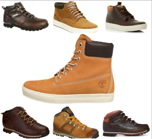 Timberland-Mens-Ankle-Chukka-Hiking-Walking-Cupsole-Laceup-Waterproof-Boots
