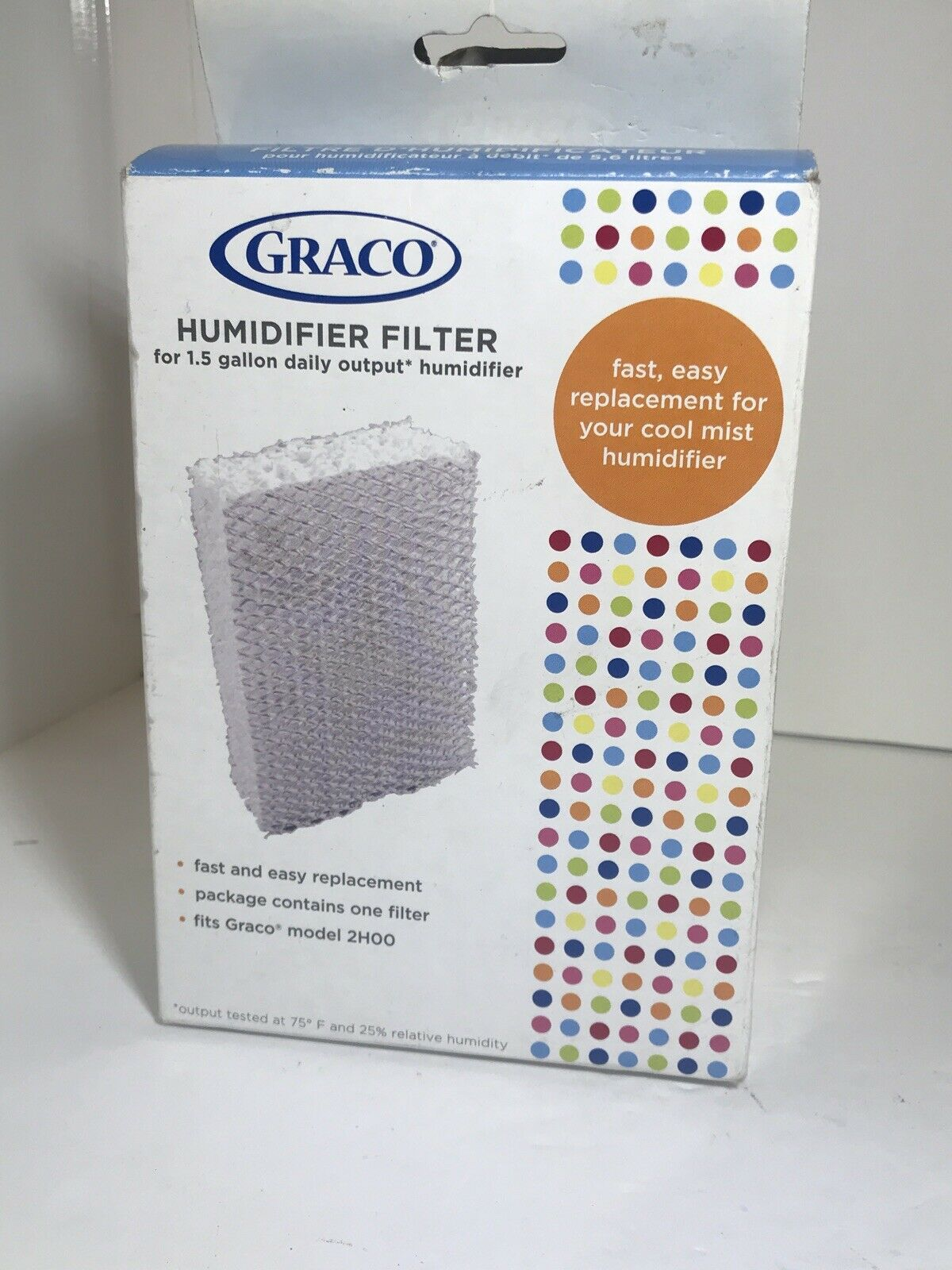 Genuine GRACO 2H01 Humidifier Filter for model 2H00 IN BOX
