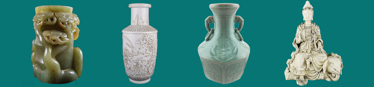 Shop Event Antique Ceramic & Porcelain Auction Featuring Blanc de Chine and Celadon styles