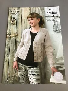 b9e437e69179 Image is loading King-Cole-Knitting-Pattern-Cropped-Raglan-Cardigan-71-